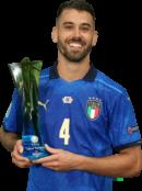Leonardo Spinazzola football render