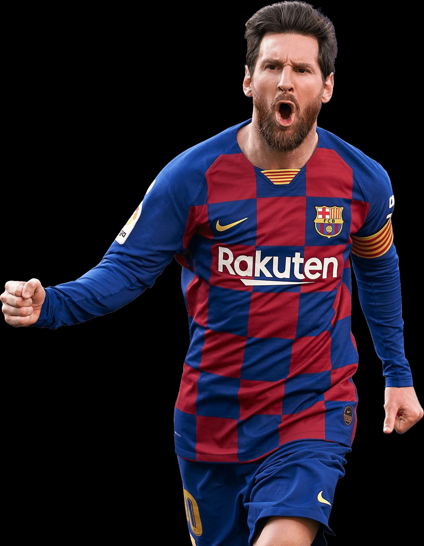 Lionel Messi football render - 65586 - FootyRenders