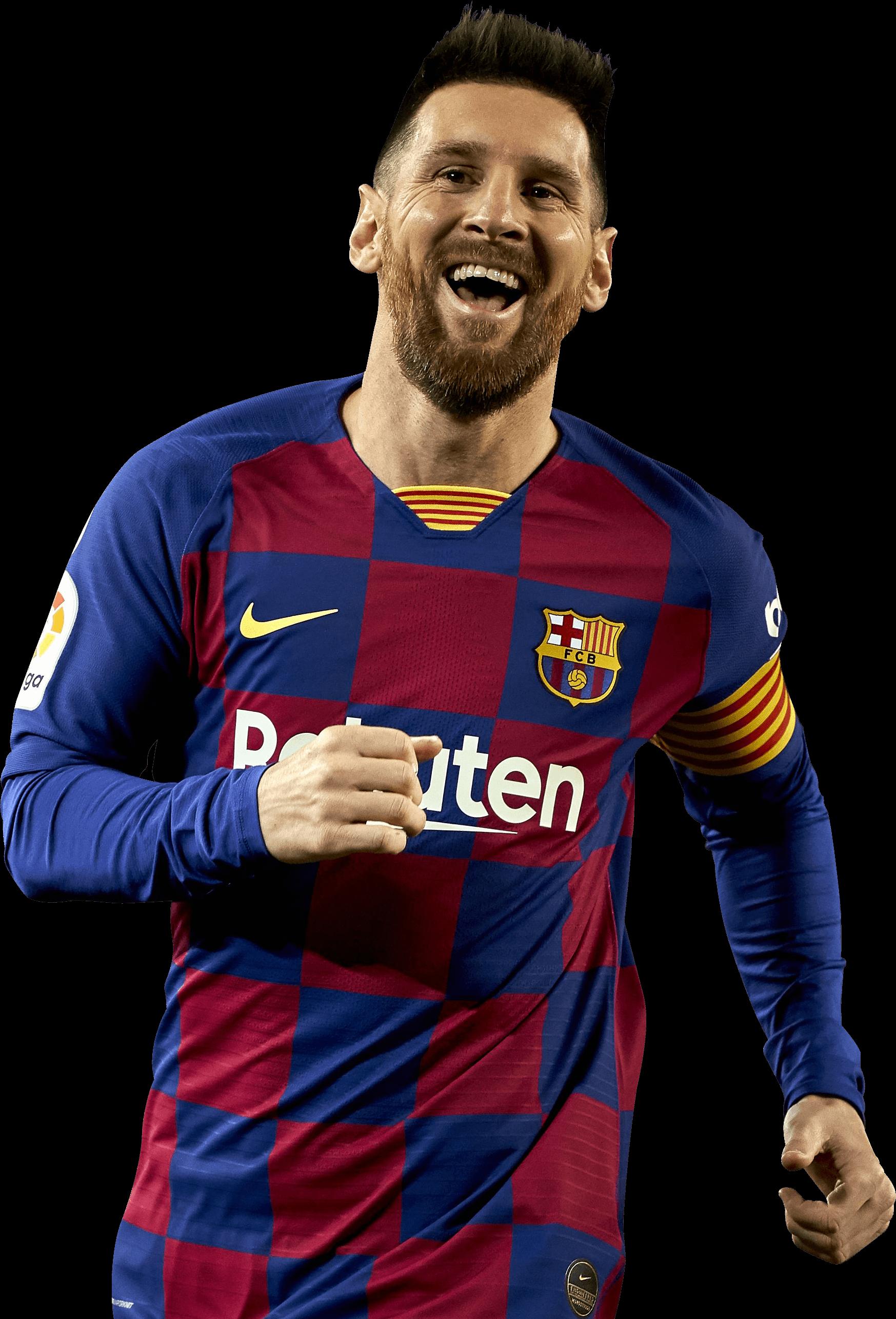 Lionel Messi football render - 66038 - FootyRenders
