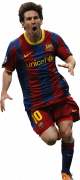 Lionel Messi football render