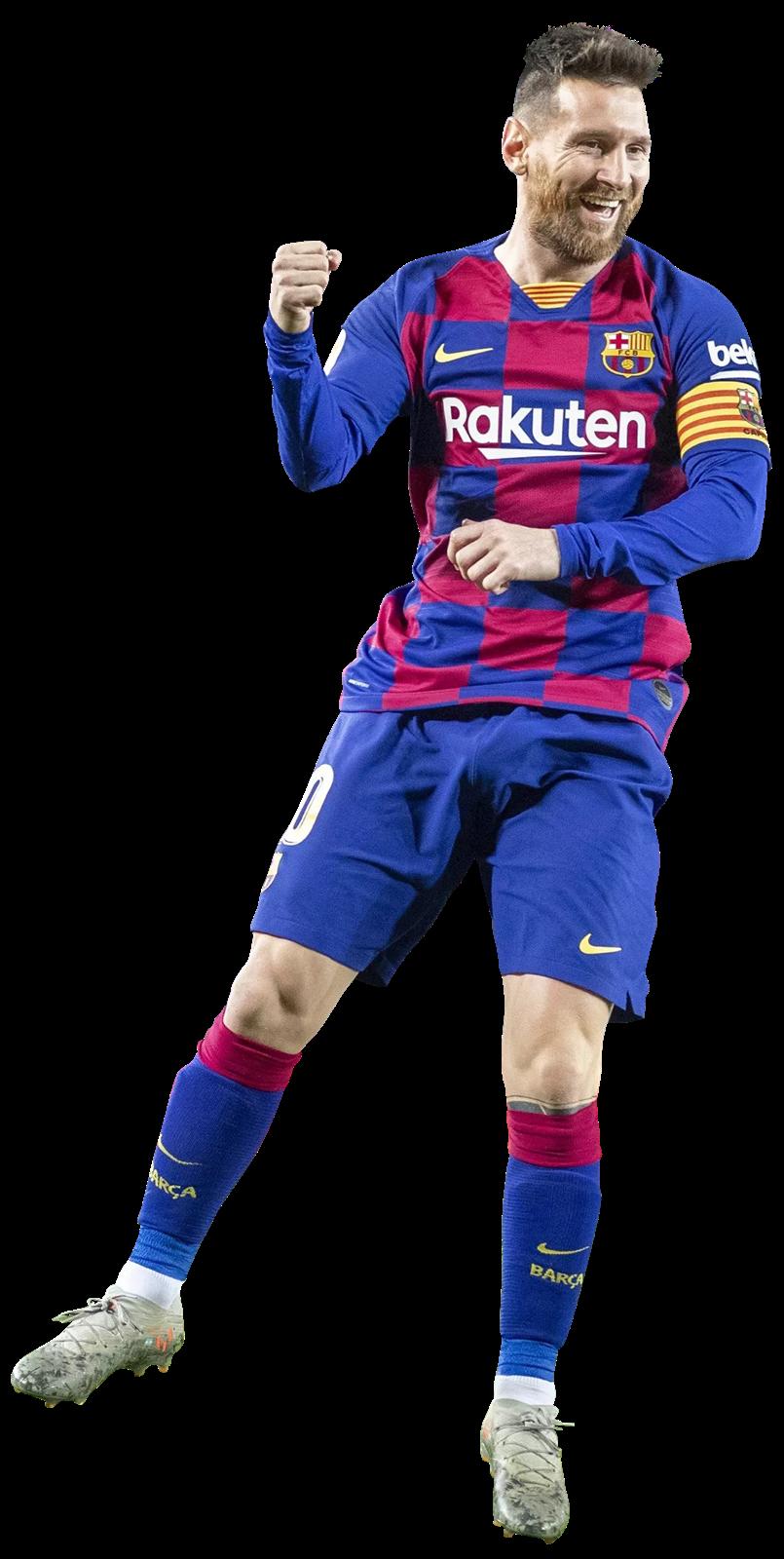 Lionel - FootyRenders - 29567 Messi football render