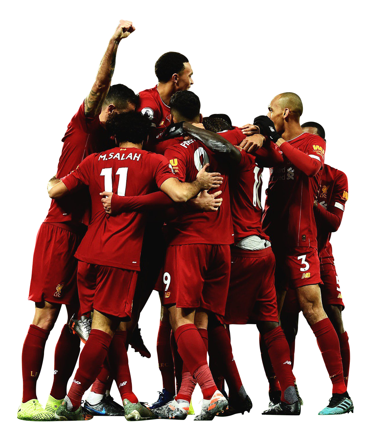 Liverpool Fc Team Football Render 65109 Footyrenders