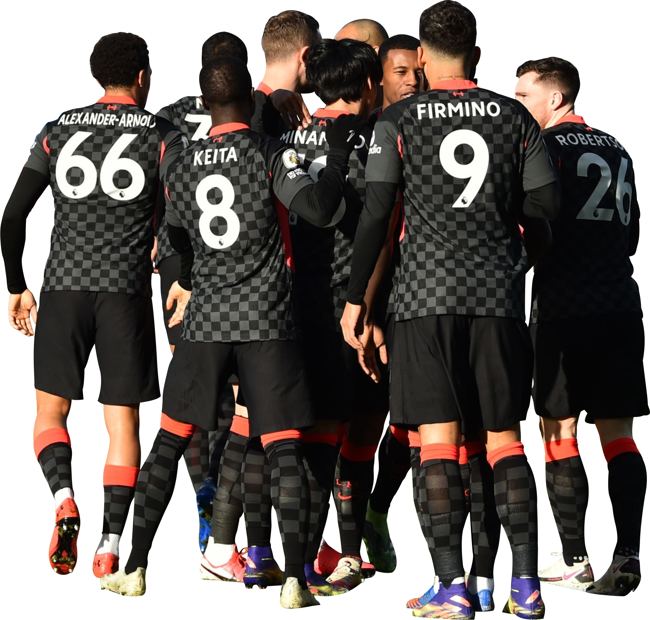 Liverpool Fc Team Football Render 76840 Footyrenders