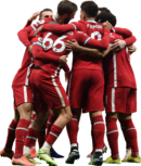 Liverpool FC Team football render
