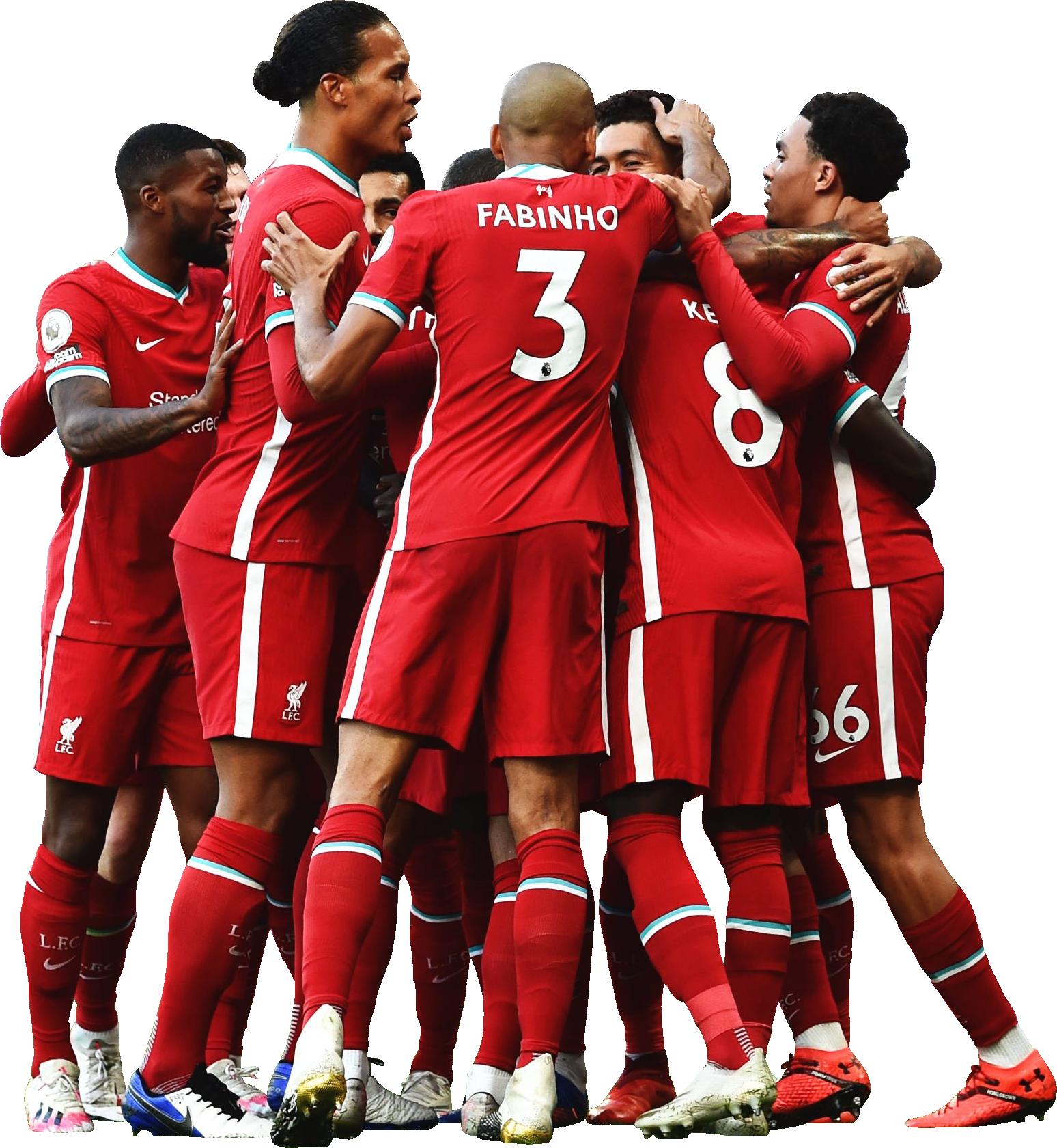 Liverpool FC Teamrender