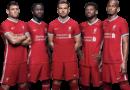 Liverpool FC Team football render