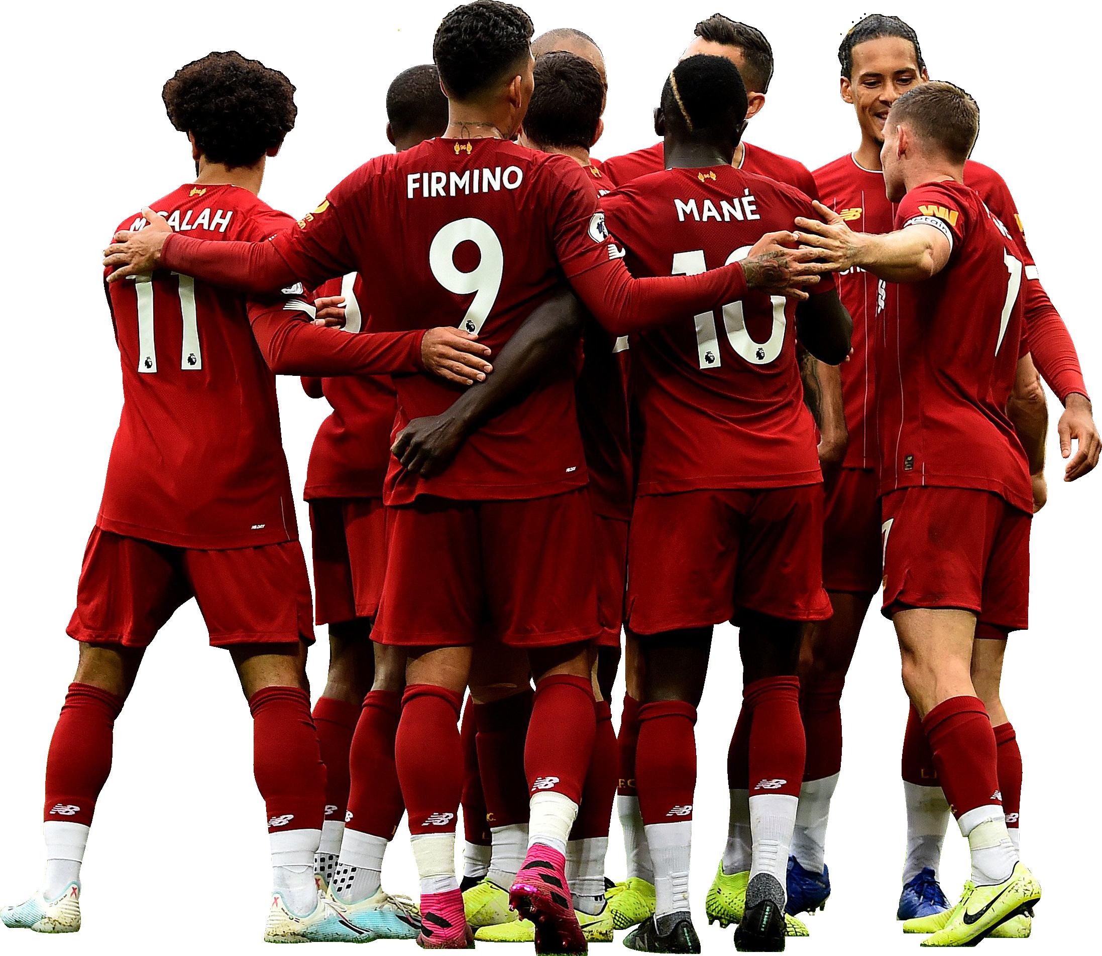Liverpool FC Team Football Render 65107 FootyRenders