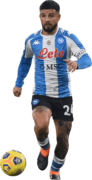 Lorenzo Insigne football render