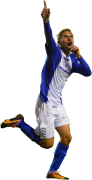 Peter Lovenkrands football render