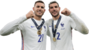Lucas Hernandez & Theo Hernandez football render