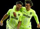 Luis Suarez & João Félix football render
