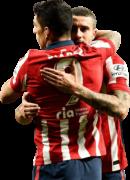 Luis Suarez & Mario Hermoso football render