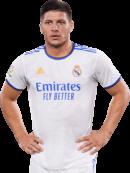 Luka Jovic football render