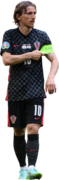 Luka Modrić football render
