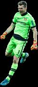 Lukas Hradecky football render