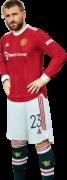 Luke Shaw football render