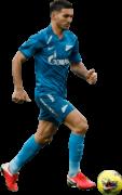 Magomed Ozdoev football render