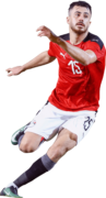 Mahmoud El Wensh football render