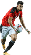 """Mahmoud """"Trézéguet"""" Hassan football render"""