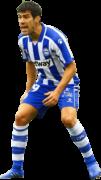 Manu García Sánchez football render
