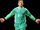 Manuel Neuer football render