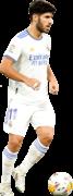 Marco Asensio football render
