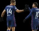 Marcos Llorente & Angel Correa football render