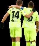 Marcos Llorente & Koke football render