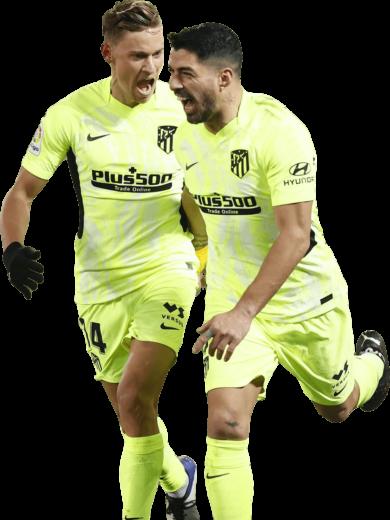 Marcos Llorente & Luis Suarez
