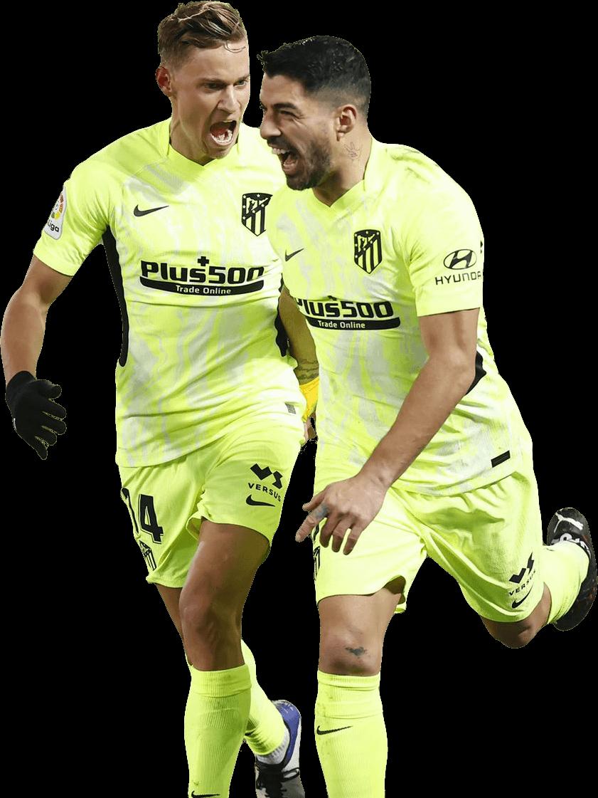 Marcos Llorente & Luis Suarezrender