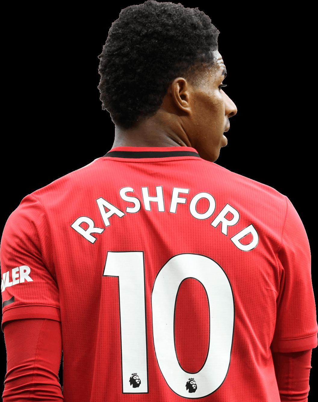 Marcus Rashford football render - 69171 - FootyRenders