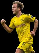 Mario Götze football render