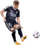 Martin Ødegaard football render