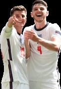 Mason Mount & Declan Rice football render