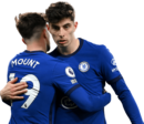 Mason Mount & Kai Havertz football render