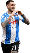 Matteo Politano football render
