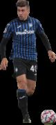 Matteo Ruggeri football render