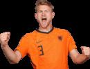 Matthijs de Ligt football render