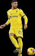 Mattia Zaccagni football render
