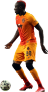 Mbaye Diagne football render