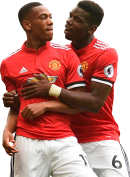 Anthony Martial & Paul Pogba