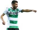 Mehdi Bourabia football render