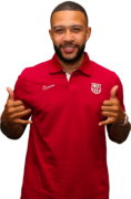 Memphis Depay football render