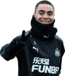 Miguel Almiron football render