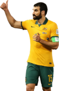 Mile Jedinak football render