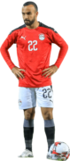 Mohamed Magdy Afsha football render