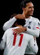 Mohamed Salah & Virgil van Dijk football render