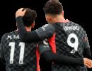 Mohamed Salah & Roberto Firmino football render