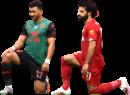 """Mahmoud """"Trézéguet"""" Hassan & Mohamed Salah football render"""