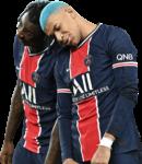 Moise Kean & Kylian Mbappé football render